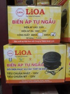 biến áp lioa 600va dn 006 biến áp lioa vào 220v ra 100v 120v dùng cho amly