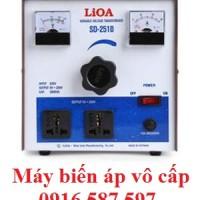 máy biến áp vô cấp 1kva 5a sd 255