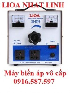 bảng báo giá máy biến áp vô cấp 1 pha sd255 sd 2510 sd 2525 sd 2537.5 sd 2550