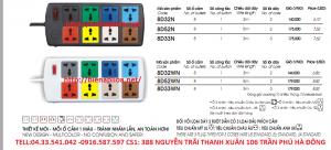 ổ cắm lioa 8d32n 8d52n 8d33n 8d33wn 8d32wn 8d52wn ổ cắm 8 ổ đa năng