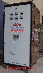 LIOA SH3 250K| ỔN ÁP LIOA 250KVA 3 PHA| BÁN LIOA 250KW CHO DỰ ÁN