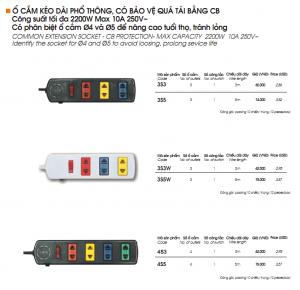 ổ cắm 3s3 3s5 3s3w 3s5w 4s3 4s5 4s3w 4s5w đại lý ổ cắm lioa tại nguyễn trãi thanh xuân