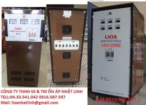 LIOA 1000KW 3 PHA MODEL NM 1000K