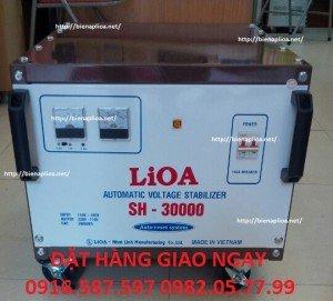 ỔN ÁP SH 30000|ỔN ÁP LIOA 30KW 1 PHA| ỔN ÁP 30000W| LIOA NHẬT LINH THANH XUÂN