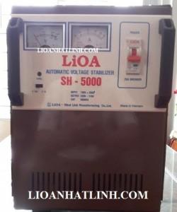 ổn áp lioa sh 5000 -lioa 5kw-lioa 5000w- ổn áp 5kva -bienaplioa.net