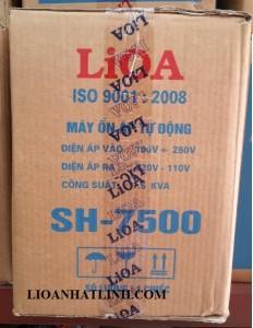 on ap lioa 7500w, lioa7,5kw  hàng chuẩn