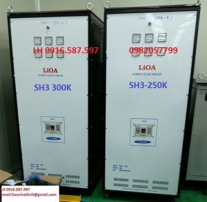 lioa sh3 250kii 3 pha cung cấp ổn áp 250kw cho dự án