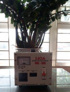 on ap lioam0,5kva ổn áp công suất nhỏ nhất
