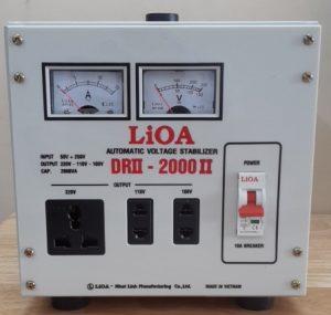 LIOA DRII 2000II DẢI 50V-250V HÀNG MỚI 2018 DÂY ĐỒNG XỊN