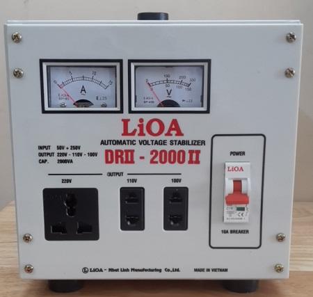ổn áp lioa 2kva chính hãng bền đẹp chất lượng tốt nhất