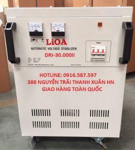 ổn áp điện lioa nhật linh 30kw 1 pha 220v 110v 120v avr avs