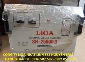 ổn áp lioa nào tốt nhất lioa 25kw 1 pha 100v 110v 220v