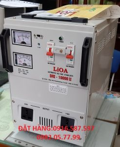 ỔN ÁP LIOA DRI-10000II,LIOA 10KW DÂY ĐỒNG 100%