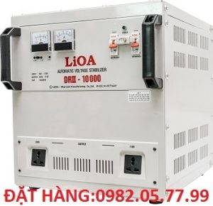 LIOA DRII-10000II, ỔN ÁP 10KVA 1 PHA MODEL MỚI NHẤT